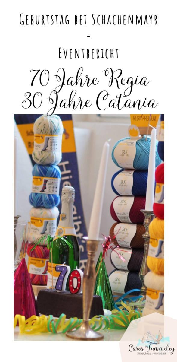 Eventbericht vom Bloggertreffen anlässlich des Geburtstags der Garne Catania und Regia bei Schachenmayr 2019