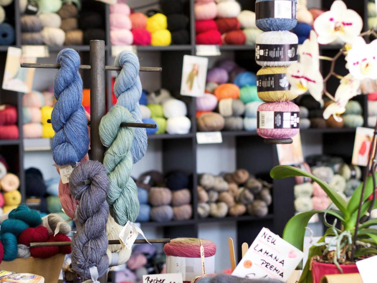 Wolle kaufen in Minden - Die Strickerei